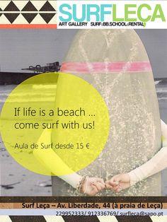 Surf Leça´s lessons.