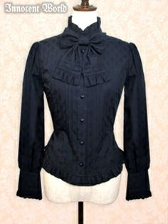 Innocent World Classical Jacquard Blouse