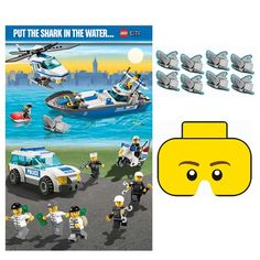 LEGO City Party Game Party Accessory by Amscan