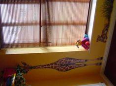 Jungle themed playroom - Self adhesive wall decoration