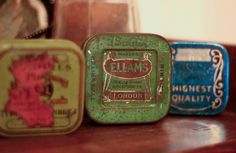 A new item to collect! Vintage typewriter ribbon tins!
