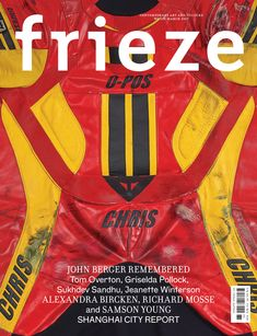 """The magazine's art director David Lane has given it a new print design, which aims to represent how contemporary art is """"reactive"""" and """"makes a statement"""". Frieze Magazine, Magazine Art, Magazine Covers, Art Director, Creative Director, Richard Mosse, Chris John, Shanghai City, John Berger"""