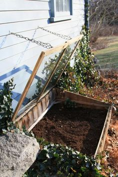 Get a jump on your summer garden by using a cold frame.