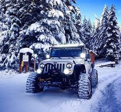 JEEPS & SNOW  NEED I SAY MORE?