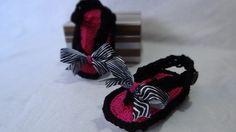 Sandália feita em linha 100% algodão em varias cores e tamanhos!!! R$22,00