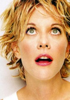 Meg Ryan hair...I need to lose my bob!
