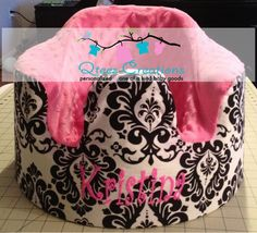 Personalized Foam Seat Bumbo Cover with optional by QteesCreations, $28.00