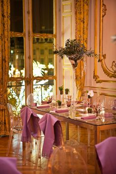 French dining room -  modern furniture