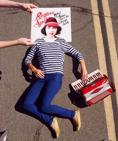 Sleeveface series by Carl Morris and John Rostron + photography + Regina Spektor