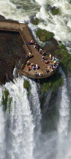 Iguazu Falls, BRAZIL side.