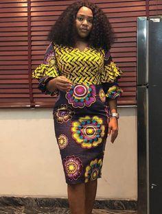 Check Out This Beautiful Ankara Short Gown Styles 2018   2019 .Check Out  This Beautiful Ankara Short Gown Stymles 2018   2019 66b87fc1aa7