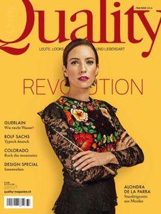 Ausgabe 37: Quality Revolution  Foto: Leonardo Manzo,  Model: Alondra de la Parra - Stardirigentin aus Mexiko Rolf Sachs, Colorado, Star Wars, Alondra, Revolution, Mom, Cover, Musica, Conductors