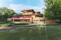 Replica of Frank Lloyd Wright's Robie House Returns Asking $1.5M - Curbed Chicago