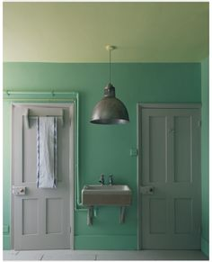 Farrow and Ball Arsenic and Hound Lemon, or Pale Hound