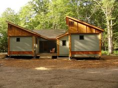 Cottage in a Day, green pre-fab homes, made in Traverse City. What? Awesome!