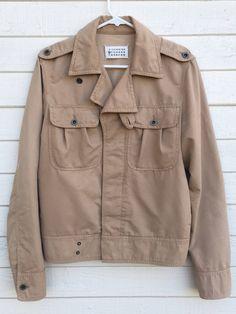 29e9944122 Maison Margiela SS05 Vintage Safari Coat Line 10 Size US S   EU 44-46