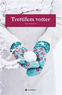 Trettifem votter Norway House, Lucky Horseshoe, Mittens Pattern, Drops Design, Little Miss, Ravelry, Free Pattern, Crochet Necklace, Knitting