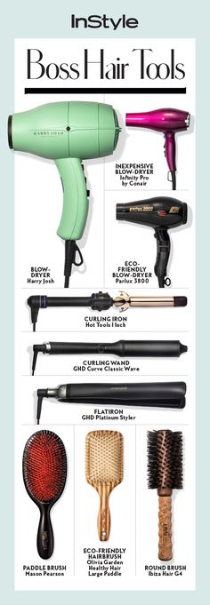These hair tools will get you your dream locks in no time. - Tools and useful devices - - These hair tools will get you your dream locks in no time. - Tools and useful devices Stylist Tattoos, Hair Supplies, Hair Tools, Hair Styling Tools, Hair Brush, Hair Hacks, Beauty Hacks, Beauty Tips, Cool Hairstyles