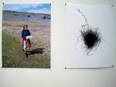Marie Lenehan-Jacobs: blindfold journey drawings
