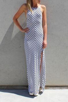 Crossing Maxi Dress - Womens