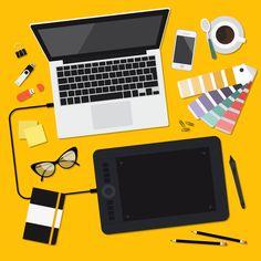 SAM Web Studio is Best Web Designing Company in Delhi. Get Responsive Ecommerce Website Design, SEO Services, & Digital Marketing. Web Design, Vector Design, Vector Art, Your Design, Web Studio, Flat Illustration, Graphic Design Inspiration, Illustrations Posters, Digital Marketing