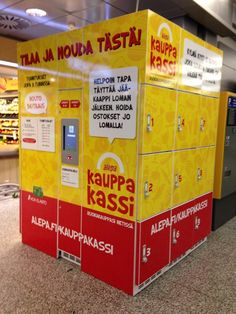 Click & Collect grocery from Alepa in Helsinki Airport