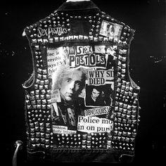 johnny rotten #pil #sexpistols #leather
