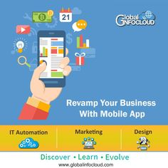 Global infocloud is the digital marketing agency in pune. Global Infocloud helps you to automatate your business with minimum manual intervention and ease your business. Global InfoCloud creates and manages your virtual presence with mobile apps and creates a distinct image of your business. #mobileapp #app #android #mobileapplicationdesign #applicationdevelopment #deliveryapplication #deliveryapp #appdevelopment #appdeveloper #appdesign #globalinfocloud #agency #digitalagency #pune Mobile Application Design, Application Development, Web Application, App Development, App Marketing, Best Digital Marketing Company, Pune, Android, Apps
