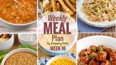 Slimming Eats Weekly Meal Plan - Week 16