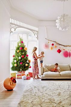 modern bright christmas