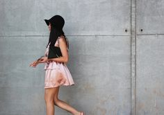 Minikleid in rosé von neseseti auf DaWanda.com