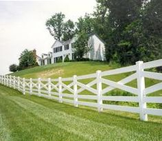 something about a white picket fence always tugs at the heart