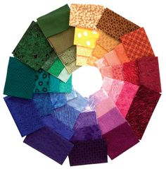 Color lessons for quilter