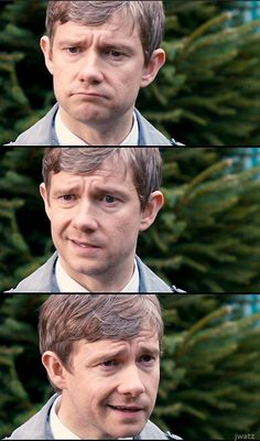 I just want a movie with no script, just Martin Freeman reacting to things only using facial expressions. Bonus: Benedict is in it :)