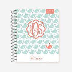 Custom planner https://www.etsy.com/listing/150223651/2017-student-planner