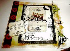 HappyH aunting handmade card