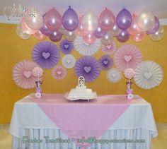 Decoración Bautizo Niña  http://www.happy-occasions.com/ https://www.facebook.com/happyoccasionsfiestas