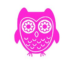 Owl Wall Decal by 2VinylDivas on Etsy