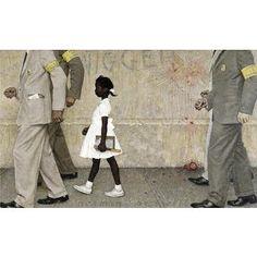 Ruby Bridges -- Norman Rockwell