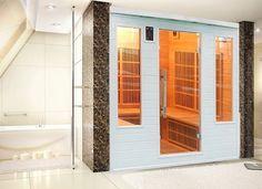 Sauna Infrarouge Soleil Blanc Club 5/6 Personnes Profitez de notre prix exceptionnel de 2739€ sur lekingstore.com Contactez nous au 01.43.75.15.90