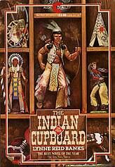 Indian in the Cupboard Book AND video. This is the first movie I remember going to without my parents, it was with Kristen and Alisha