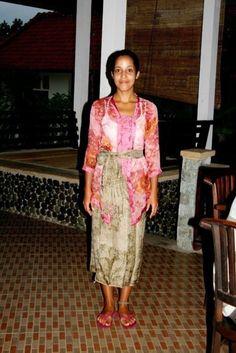 Traditional Bali dress