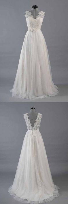 Wedding Dresses A-Line #WeddingDressesA-Line, Wedding Dresses Cheap #WeddingDressesCheap, 2018 Wedding Dresses #2018WeddingDresses #cheapweddingdresses