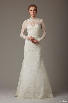 Lela Rose #Bridal Spring 2016 #Wedding Dresses | Wedding Inspirasi #weddings #weddinggown #weddingdress