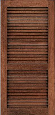 JELD WEN L202 Custom Wood Louver Interior Door From Waybuild