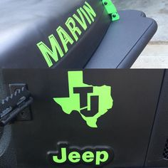 Here's a look at some of the decals I made. I can do custom wording in any size and font that you want.