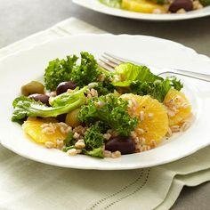 Orange-Farro Salad Recipe