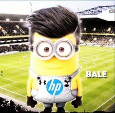 Gareth Bales Football Minion