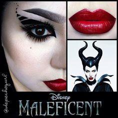 "Lip - @NYX Cosmetics ""Eden"" Matte Lipstick and OCC ""Black Dahlia"" Lip Liner. Eyes - NYX Liquid Black Eyeliner, MAC ""Copperplate"""