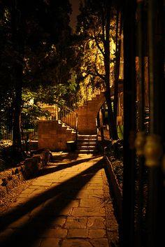 Lovely, quiet, corner in Jerusalem, Israel.
